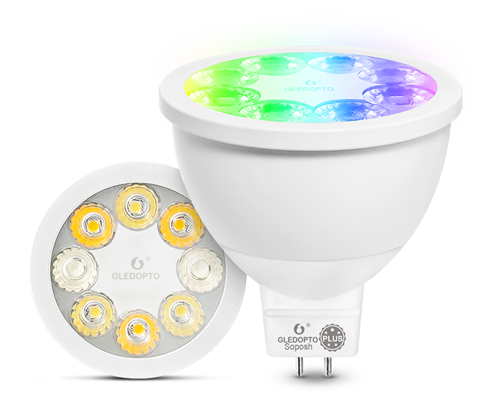 4W MR16 Dual White and Color Plus 30°