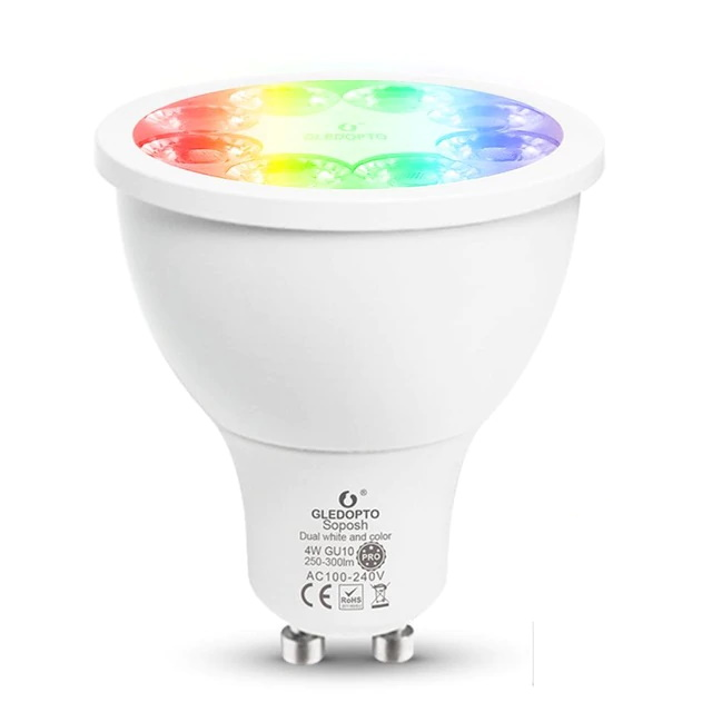 5W GU10 Dual White And Color Spotlight Pro