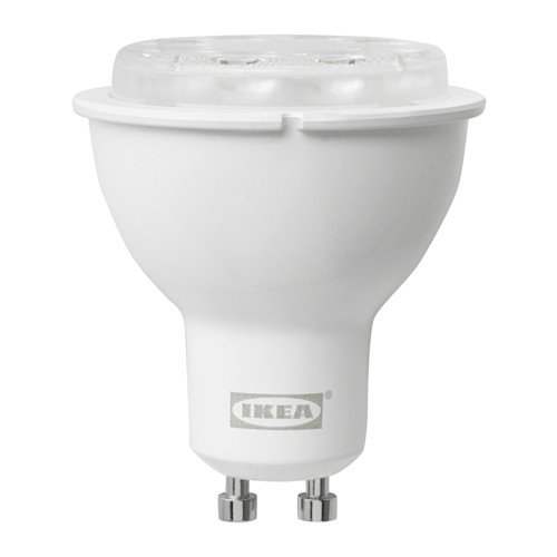Tradfri LED bulb GU10 400lm, dimmable white spectrum