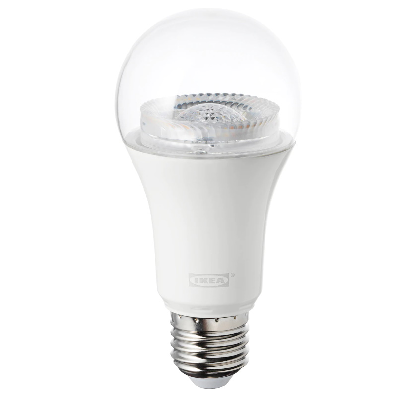 Tradfri LED bulb E26/E27 950 lumen, dimmable, white spectrum, clear
