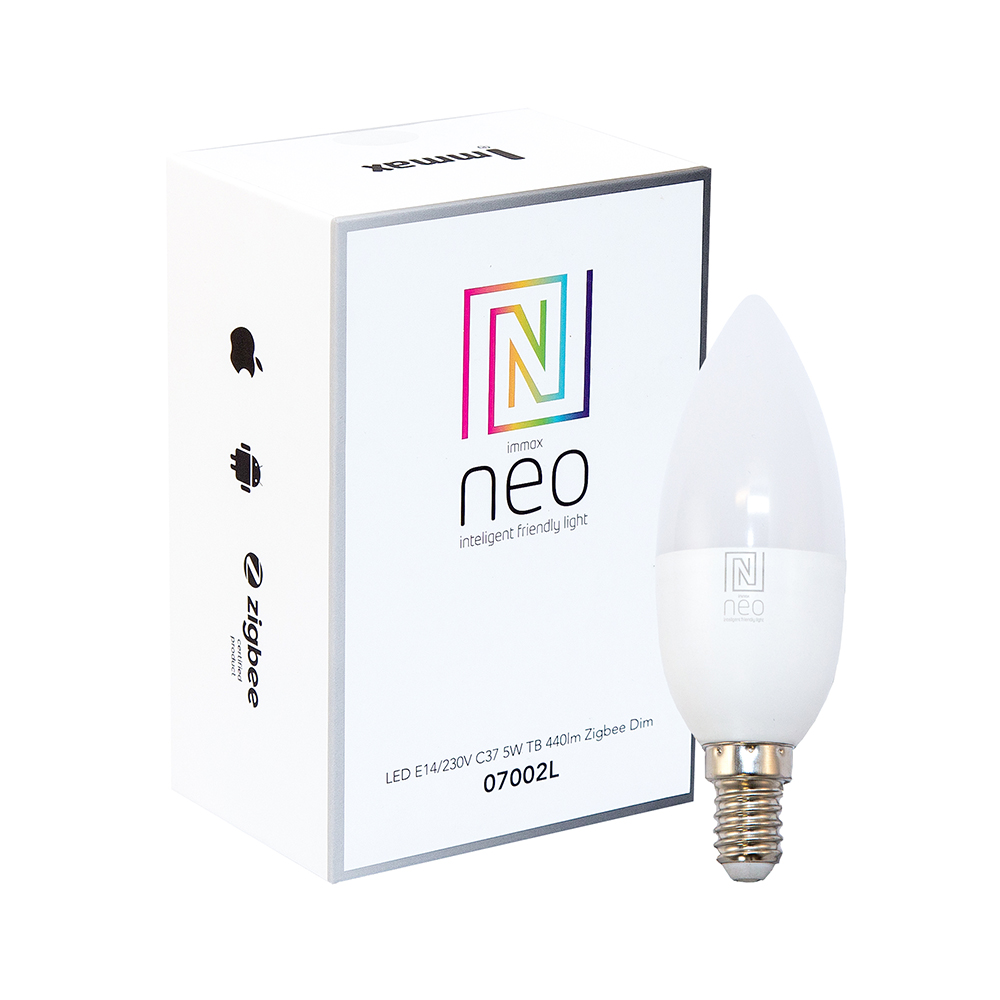 Neo Smart LED E14 5W warm white, dimmable
