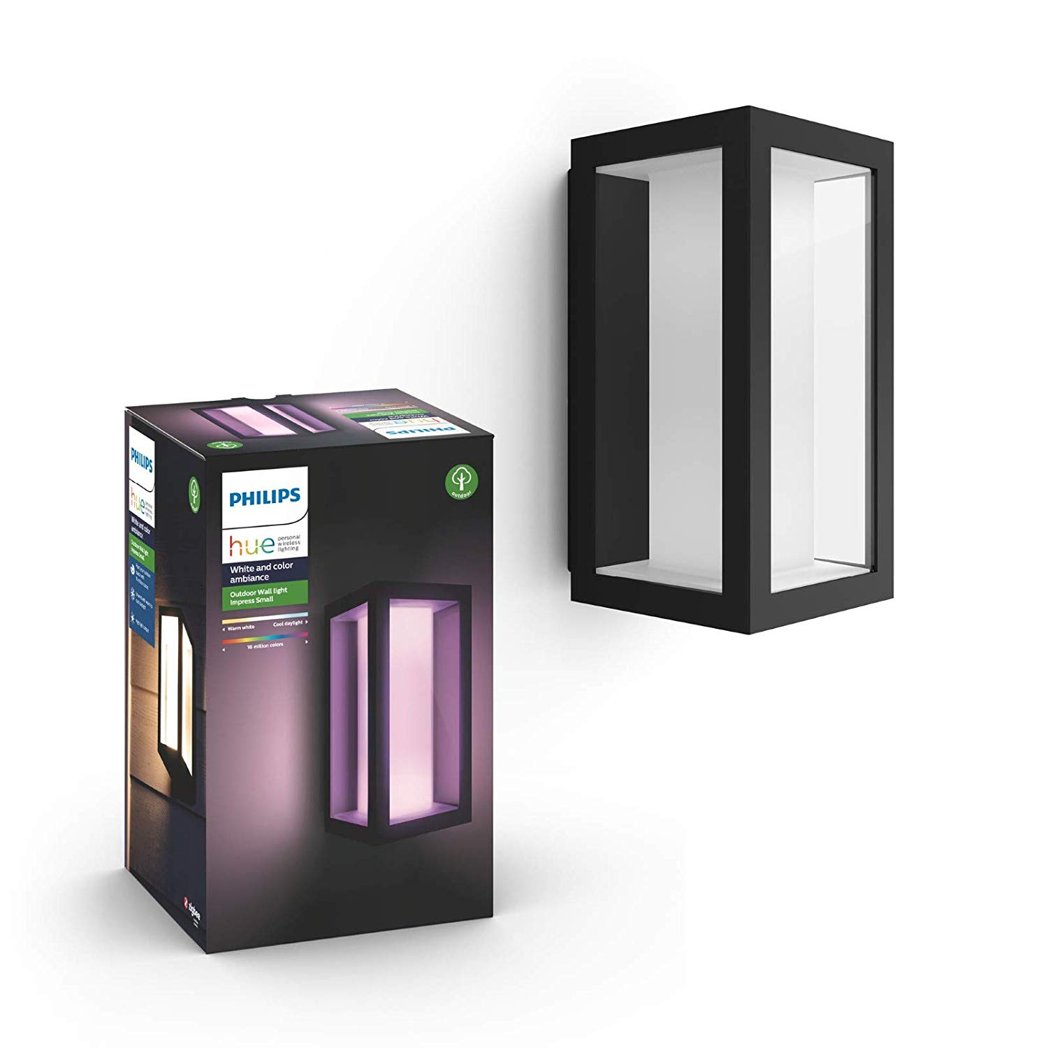Hue Impress Small Outdoor Wall Light RGBCCT