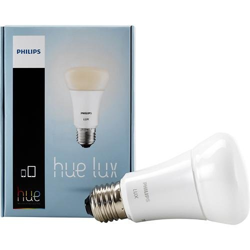 Hue Lux Extension 9W Dimmable A19 White Bulb