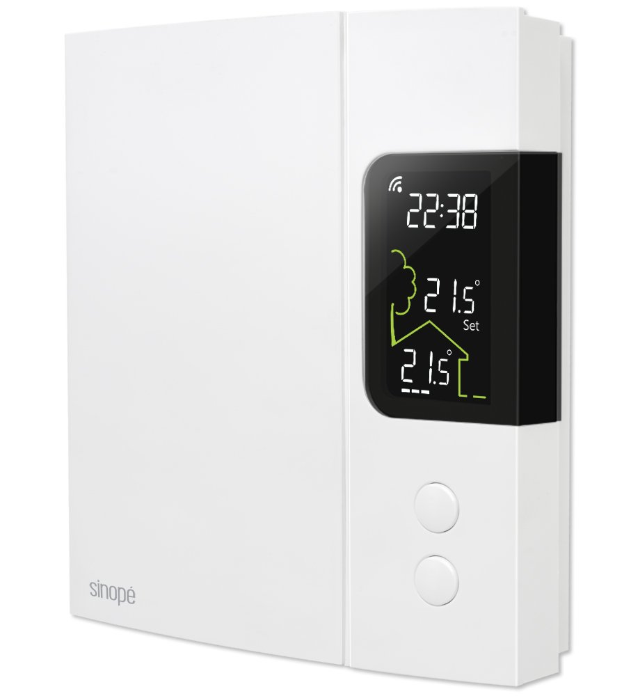 Smart thermostat for electric heating 3000 W / 4000 W