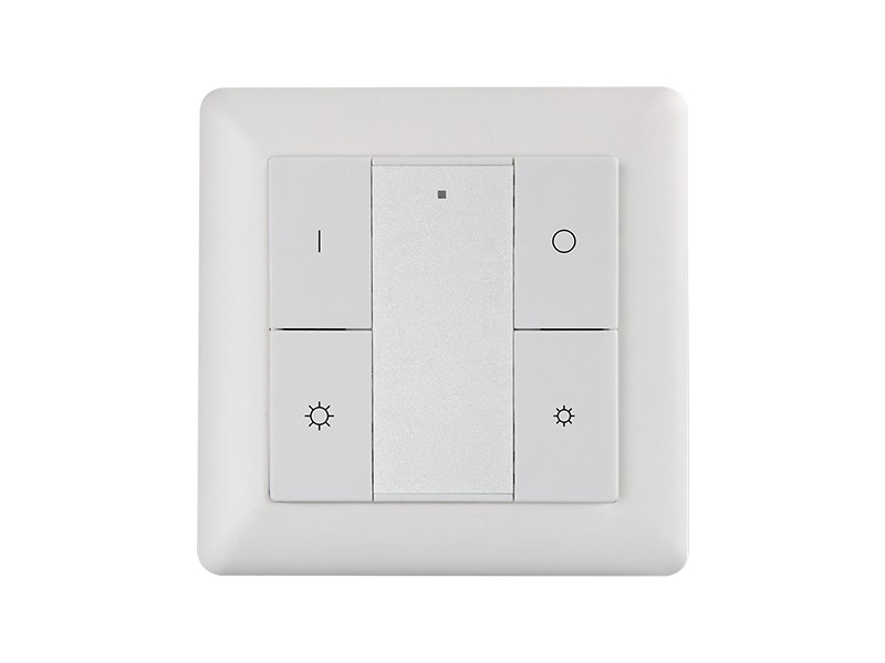 Single Color Wall Mounted Push Button Remote