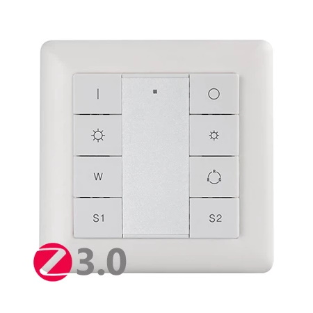 K8 RGBW Wall Mounted Remote Controller