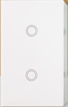 2 Gang Smart Touch Light Switch No Neutral
